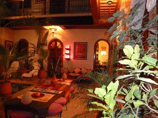 Riad Kechmara: le patio