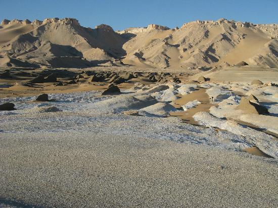The escarpment from Desert Lodge