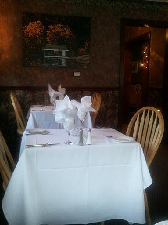 Rebecca's Casual Fine Dining Inc.: the dining room