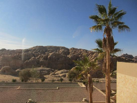 Crowne Plaza Resort Petra: View from the terrace of my room