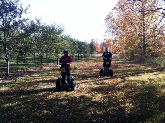 Seaquist Tours Off-Road Segway Adventures: Great fun!