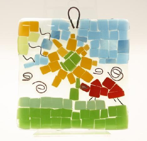 National Glass Centre: A variety of family activities are on offer, such as Glass Fused Mosaics