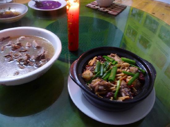 Tulou Fuyulou Changdi Inn: Food