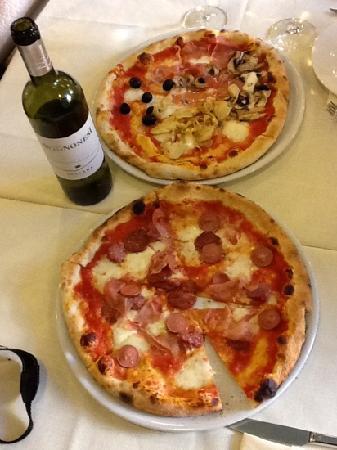 Trattoria Dall'Oste: pizza