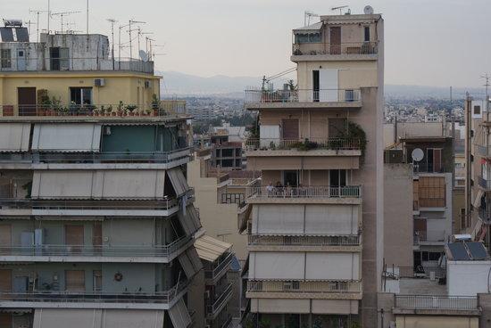 Hotel Argo Anita: Gebäude in der Nähe ;-)