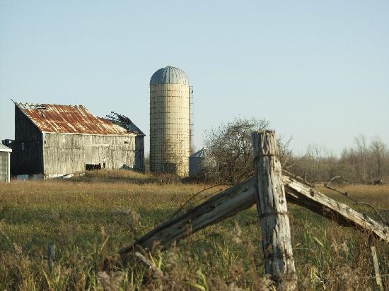 Bruce County, Canada: Farms from a simpler time