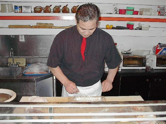 Mister Sushi: Tony