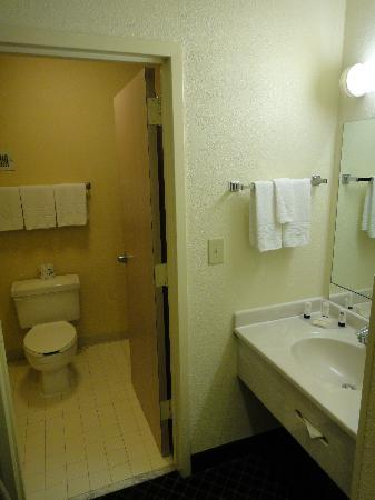 ‪‪Fairfield Inn & Suites Dallas DFW Airport North/Irving‬: Bathroom Area‬