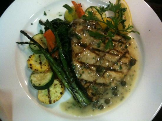 Brio Tuscany Grille: swordfish