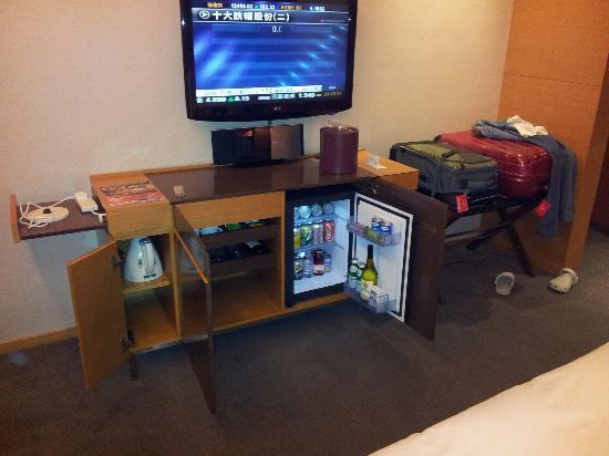 The T Hotel: minibar