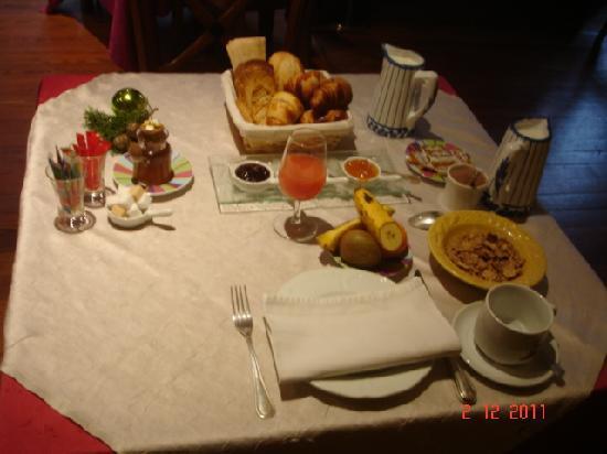 L'Oree Du Chateau : Petit déjeuner.
