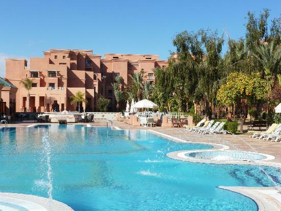 Movenpick Hotel Mansour Eddahbi Marrakech: piscines