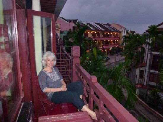 Thanh Binh II Hotel: Balcony view