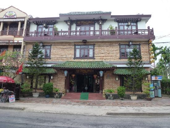 Thanh Binh II Hotel : Thanh Binh hotel 2 from street