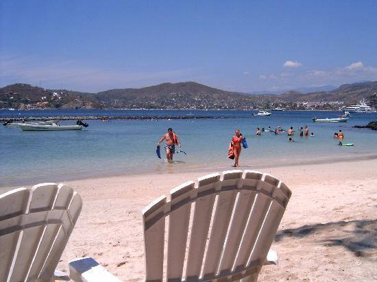 Playa Las Gatas : Beach area.