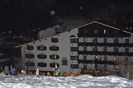 Hotel Arlberg: Perfect ski-in location!
