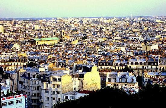 París, Francia: Desde el Sagrado Corazón
