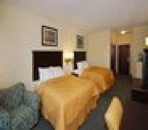 Comfort Inn Donaldsonville : Double Bedroom