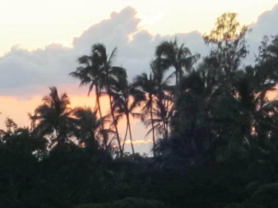 The Polynesian Residences: view from lanai