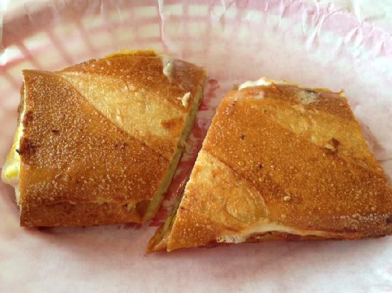 Cubby's Home Made Ice Cream : Cuban Sandwich
