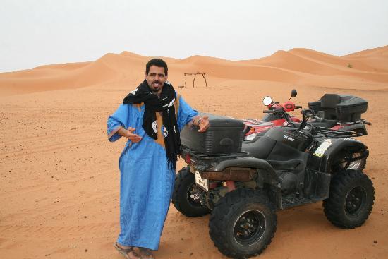 Kasbah Azalay Merzouga: Quads y ATV's en las dunas