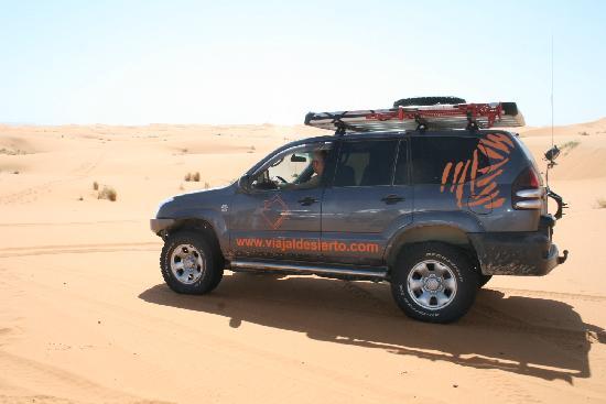 Kasbah Azalay Merzouga: 4x4 en las dunas
