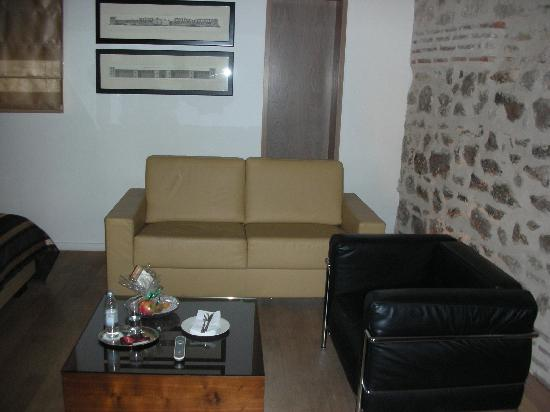 Hotel Vestibul Palace: sitting room