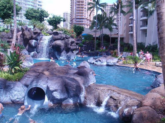 Hilton Hawaiian Village Waikiki Beach Resort Kid S Pool
