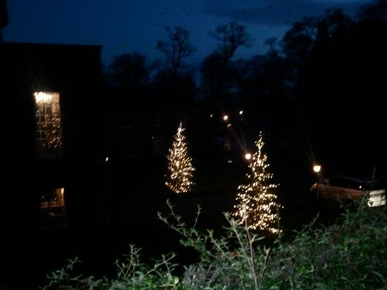 Mount Juliet Estate: View from our window at night