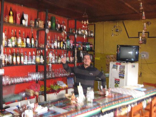 Pachamama: Leandro at the bar