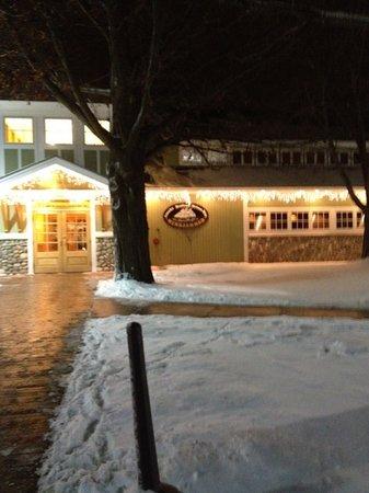 Windjammer Restaurant: winter 2012