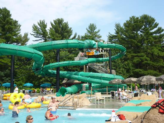 Wilderness Territory : One of the Big outdoor slides