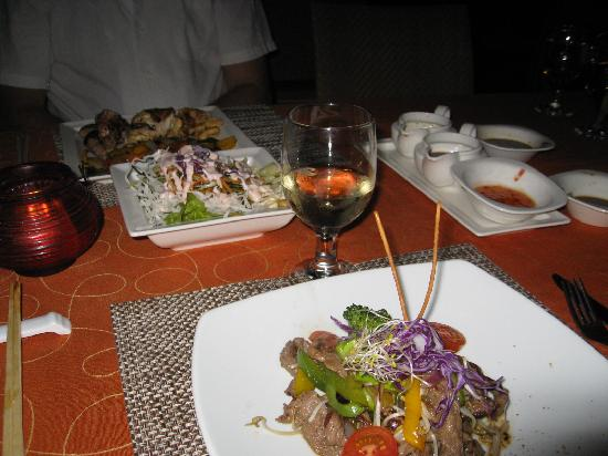 Good food asian place called k 39 ambu picture of fiesta for Americana cuisine