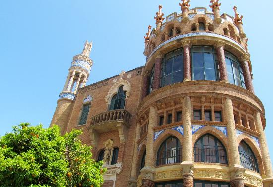 Barcelona, Spain: When I saw this looking up the St. from La Famalia  Church I had to see it.