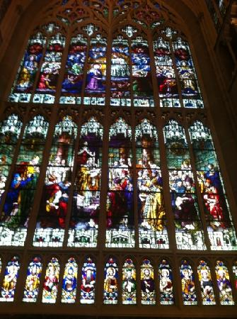 Cathedral Basilica of the Assumption: stained glass window