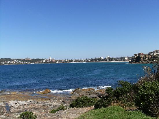 Freshwater Beach: looking towards Manly from Freshwater