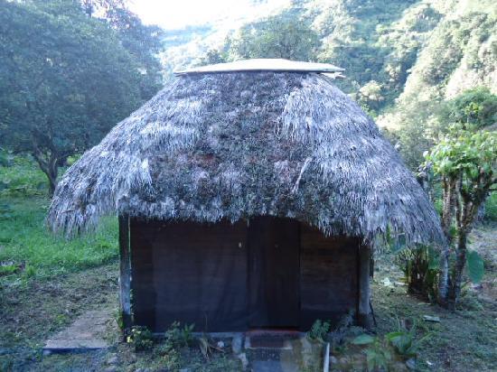 El Otro Lado: The bathroom cabin