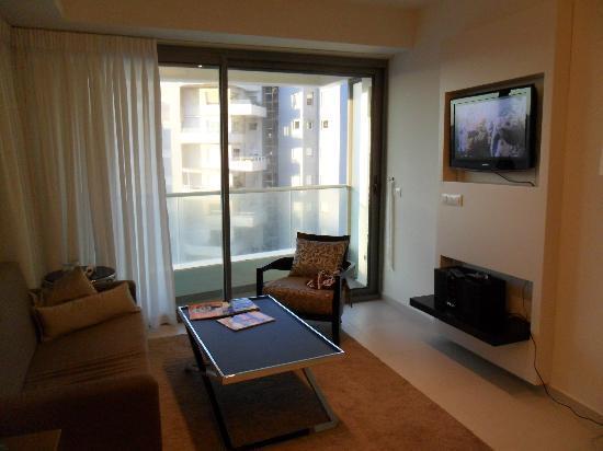ويست أول سويت بوتيك تل أبيب: Lounge room
