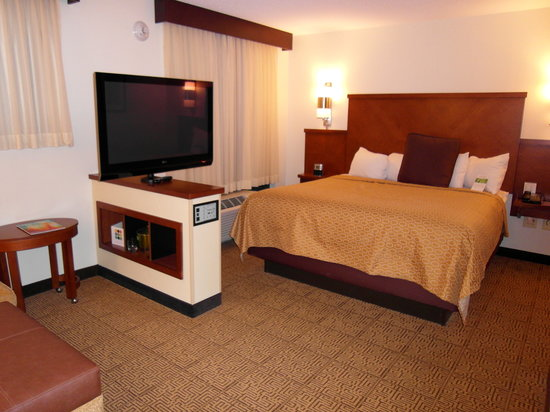 Hyatt Place Richmond Airport: TV and King Bed
