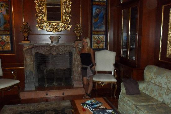 Grand Hotel Wagner: La biblioteca.