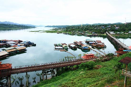 Sangkhla Buri, Tajlandia: View from Resort