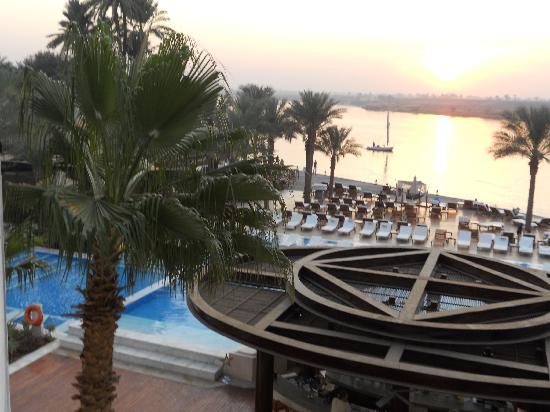 Hilton Luxor Resort & Spa: some of the pools at Hilton Luxor