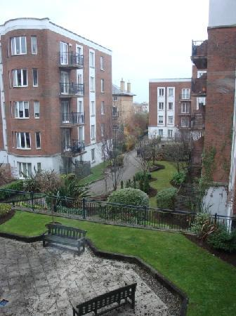 Travelodge Dublin City Centre, Rathmines: The garden view