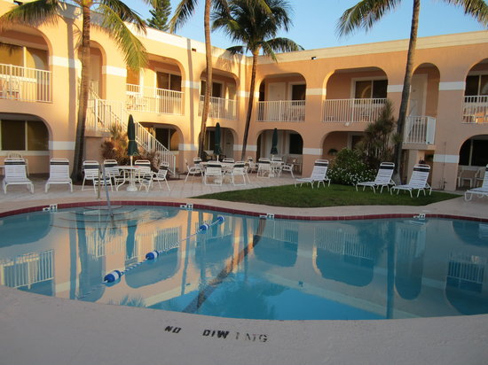 Coral Key Inn: Hotelanlage