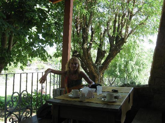 Costa Serrana: Desayunador