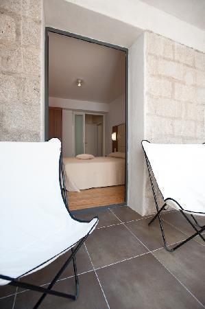 Residence Hoteliere En Aparte : chambre avec balcon suite/appartement 4 personnes