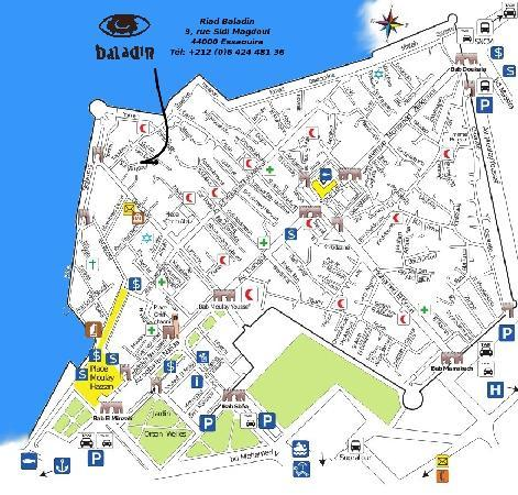 Riad baladin hotel essaouira maroc voir les tarifs for Trouver des hotels