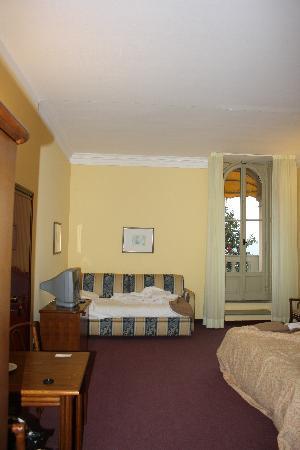 Europalace Hotel: La nostra stanza al 2° piano