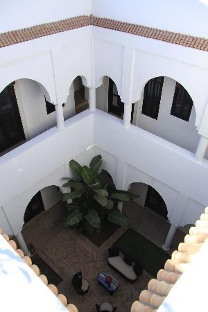 Riad Capaldi: Il cortile interno