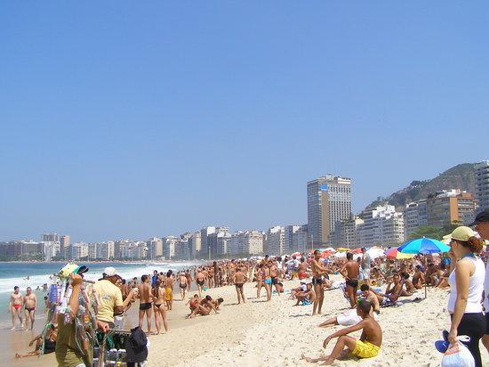 Brazil: Copacabana beach